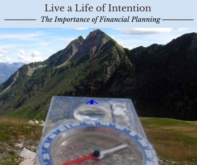 living a life of intention