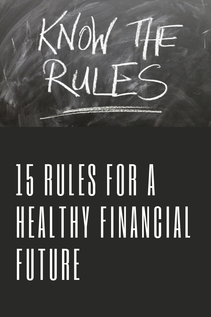Financial Planning rules